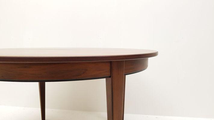Tavolo da pranzo modello nr. 55 rotondo in palissandro di Omann Jun ...