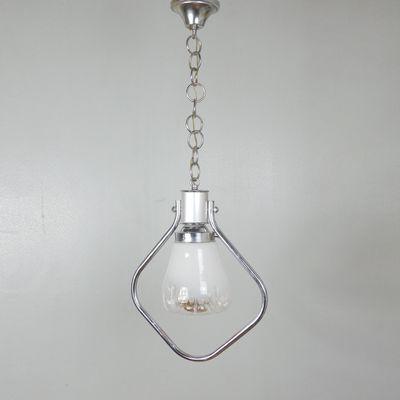 Vintage Italian Glass Pendant Light 1