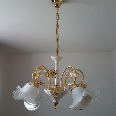Murano glass swarovski crystal chandelier from bc san michele murano glass swarovski crystal chandelier from bc san michele aloadofball Gallery