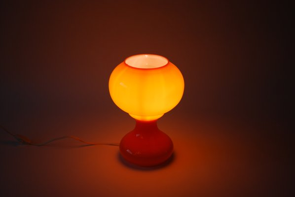 Italian murano glass orange table lamp 1970s for sale at pamono italian murano glass orange table lamp 1970s 2 mozeypictures Image collections