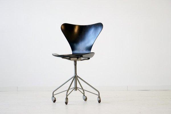 arne jacobsen office chair. 3117 07 Office Chair By Arne Jacobsen For Fritz Hansen, 1950s 1 I