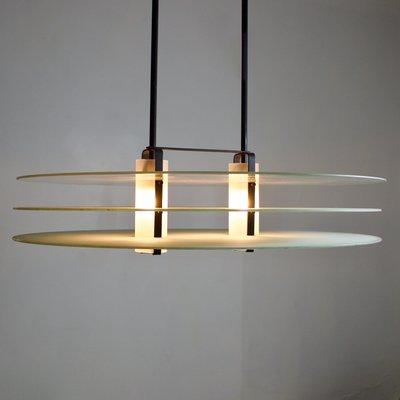 Vintage Italian Postmodern Pendant Light 2