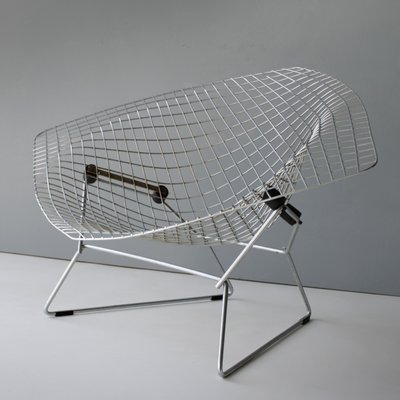 Large Diamond Chair by Harry Bertoia for Knoll, 1950s for sale at Pamono