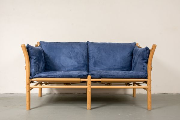 Model Ilona Two Seater Sofa By Arne Norell, 1960s 1