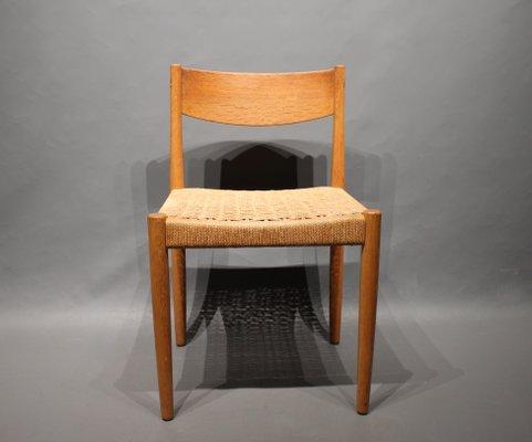 Esszimmerstühle Eiche esszimmerstühle aus eiche poul m volther für frem røjle 1960er