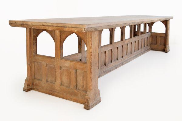 English Neo Gothic 20th Century Table 1