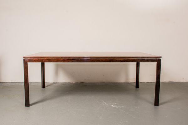 Danish Rosewood Coffee Table, 1960s 1