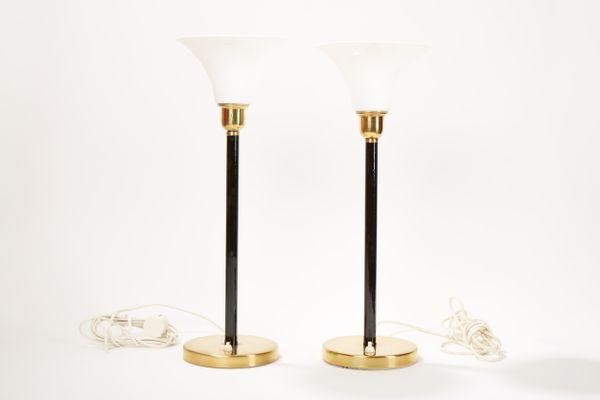 Lampade da tavolo mid century di asea set di in vendita su pamono