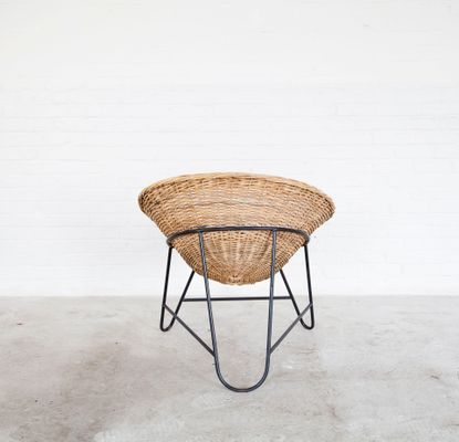 woven metal furniture. vintage woven rattan chairs with metal bases, set of 2 3 furniture