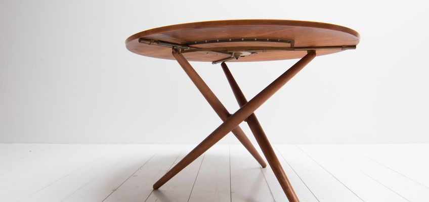 Mid-Century Table by Jürg Bally for Wohnhilfe Zürich, 1950s for sale ...
