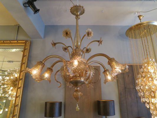 Vintage murano chandelier for sale at pamono vintage murano chandelier 1 aloadofball Gallery