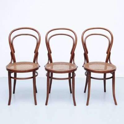 replica dla modern thonet each chair rrr bentwood chairs black