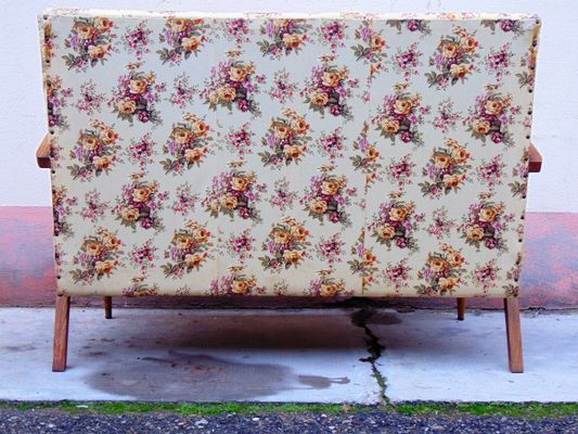 Floral Sofa, 1950s 2