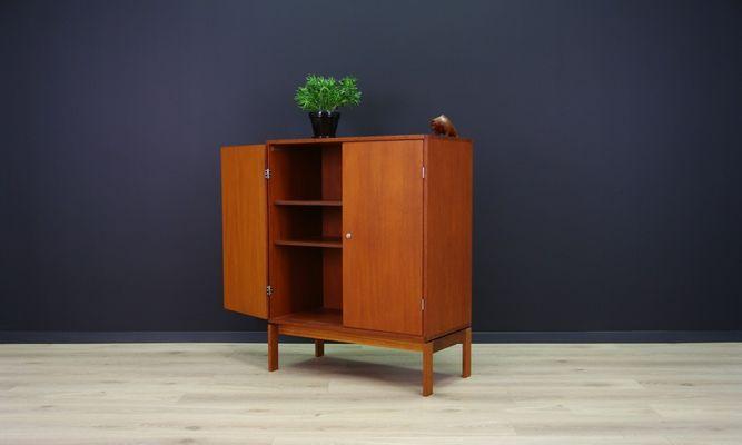 Vintage Teak Cabinet by Jensen & Valeur for Munch Møbel for sale at ...