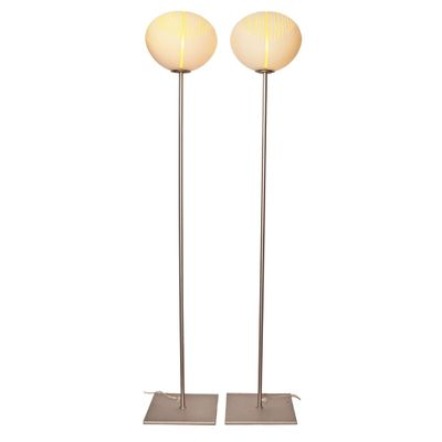 Vintage murano glass floor lamps set of 2 for sale at pamono vintage murano glass floor lamps set of 2 1 aloadofball Gallery