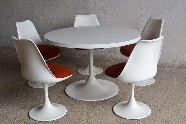 Tulip Dining Set By Eero Saarinen, 1960s 1