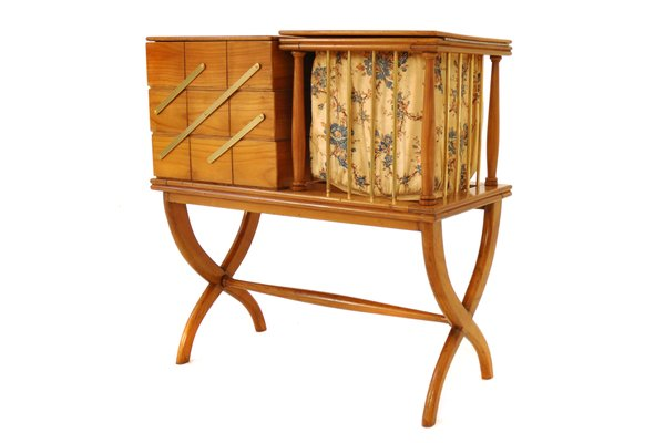 Antique Italian Sewing Box 1 - Antique Italian Sewing Box For Sale At Pamono