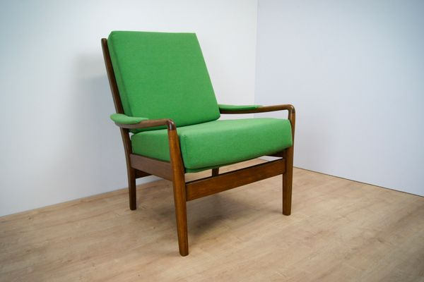 Vintage Green Armchair From Parker Knoll, 1960s 1