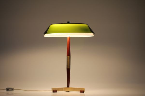 Senior desk lamp with green glass shade by jo hammerborg for fog senior desk lamp with green glass shade by jo hammerborg for fog mrup 1960s mozeypictures Image collections