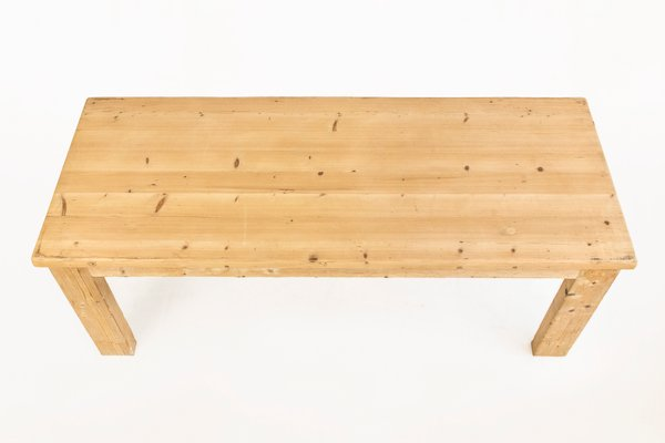pine dining table by guy rey millet jean prouv - Pine Dining Table