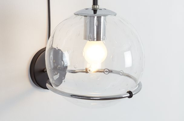 Mid Century Globe Pendant Light From Raak 1960s 2