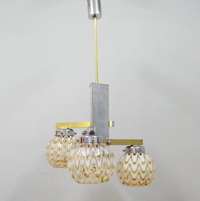 Vintage italian ceiling light 1970s 1