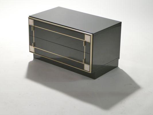 simple tables de chevet en laiton laques de roche bobois set de with roche bobois chevet. Black Bedroom Furniture Sets. Home Design Ideas