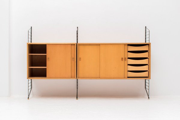 Nisse Strinning wall unit by nisse strinning for string for sale at pamono