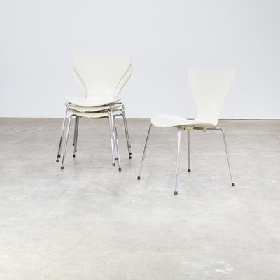 Mid Century Butterfly Chair By Arne Jacobsen For Fritz Hanzen, Set Of 4 2