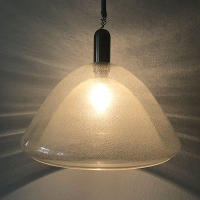 Mid Century Murano Glass Pendant Lamp By Carlo Nason For Mazzega 1960s 2