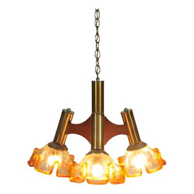 Mid Century Ceiling Light 1960s 2