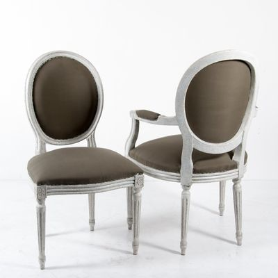 French Louis XVI Style Dining Chairs, 1880s, Set Of 6 2