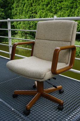 Norwegian Office Chair from Ring Mekanikk, 1980s 3