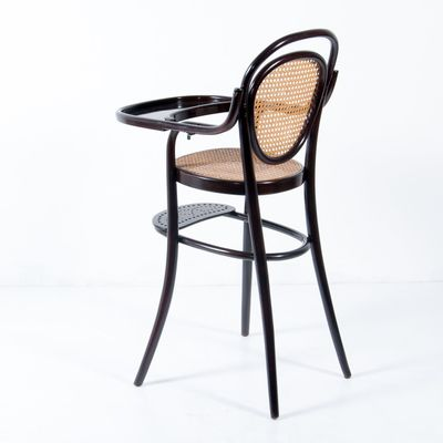 Vintage Nr. 3 Children's Bentwood Highchair from Thonet 2 - Vintage Nr. 3 Children's Bentwood Highchair From Thonet For Sale At