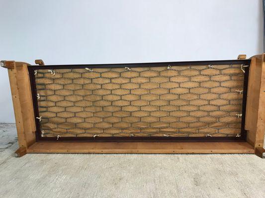 Divano letto in legno di noce di Dux, anni \'60 in vendita su Pamono