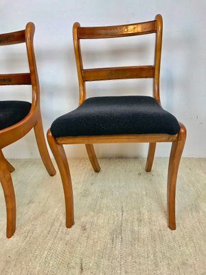 Biedermeier Style Chairs, 1930s, Set Of 4 1