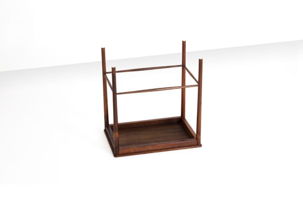 Rosewood Nesting Tables By Grete Jalk For Poul Jeppesens Møbelfabrik, 1960s  6