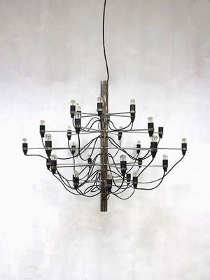 Vintage chandelier by gino sarfatti for flos for sale at pamono vintage chandelier by gino sarfatti for flos 1 aloadofball Gallery