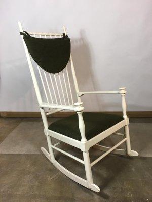 Superb Vintage Scandinavian Rocking Chair By Karl Axel Adolfsson For Gemla 2