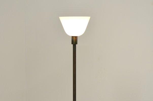 Lampe de bureau en laiton et verre s en vente sur pamono