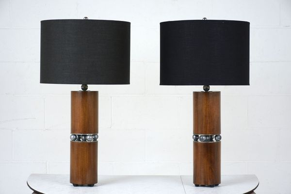 Mid century modern table lamps set of 2 for sale at pamono mid century modern table lamps set of 2 4 mozeypictures Choice Image