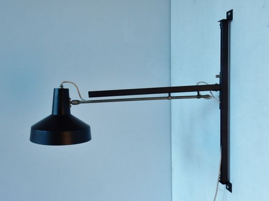 Vintage Dutch Wall Lamp From Hiemstra Evolux 1960s 1
