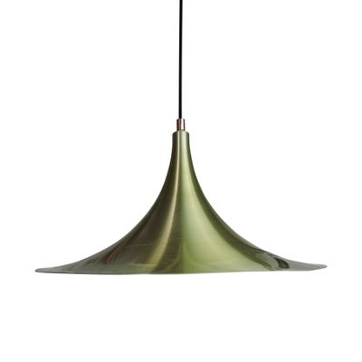 Danish Semi Pendant Light From AKA 1960s 1