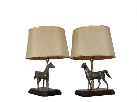 Vintage french sculptural horse table lamps 1970s set of 2 for vintage french sculptural horse table lamps 1970s set of 2 1 aloadofball Gallery