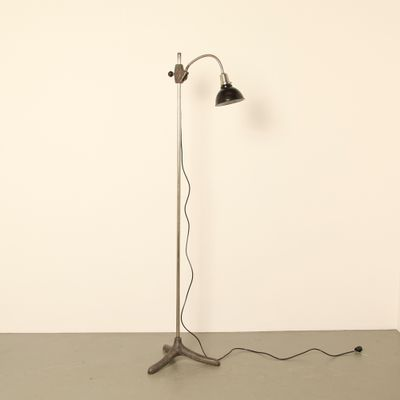 Vintage German Floor Lamp by Christian Dell, 1930s for sale at Pamono