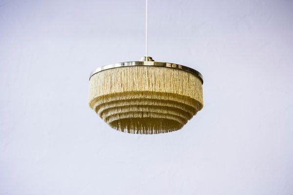 Vintage Fringe Pendant Lamp By Hans Agne Jakobsson 2