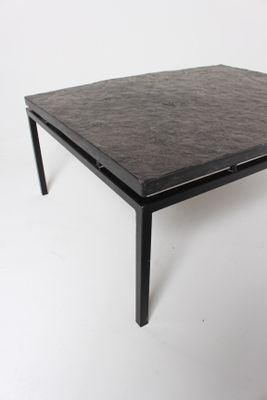 MidCentury German Slate Top Coffee Table 1960s for sale at Pamono