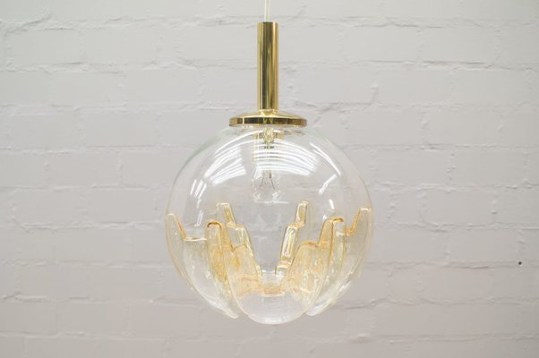 Vintage Murano Glass Pendant Lamp 1960s 1