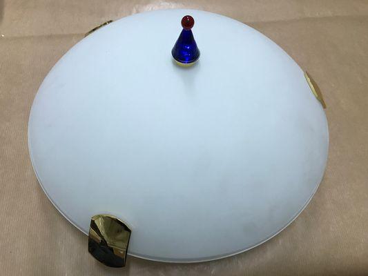 Vintage Italian Murano Glass Ceiling Lamp 1980s 1