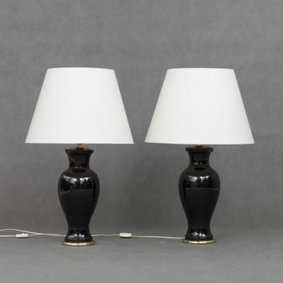 Vintage Italian Table L&s Set of 2 1 & Vintage Italian Table Lamps Set of 2 for sale at Pamono